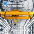 Grúa puente doble haz de 250 toneladas, doble gancho, grúa EOT