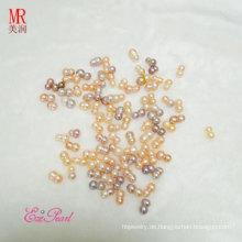 Kultivierte unregelmäßige lose Perlen (EL1124)