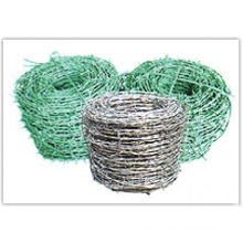 Barbed Wire Fence (Galvanized and PVC Coated)