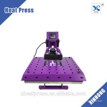 Máquina de impressão automática automática de transferência de calor 16x20 para T-shirt Thread Aquecimento Platen