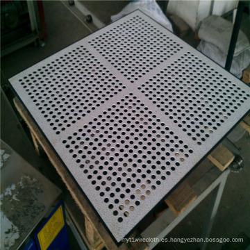 Rollos de metal perforado de acero inoxidable