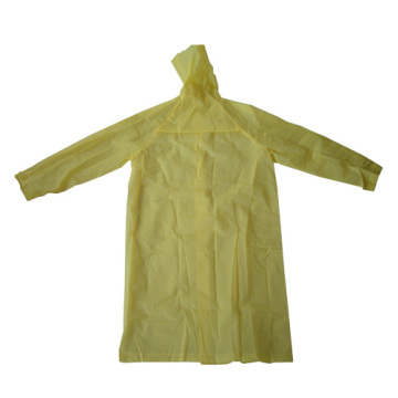 Mode jaune eva long imperméable