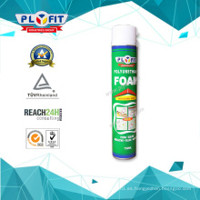 Espuma de aerosol de PU expandible a prueba de agua de 750 ml