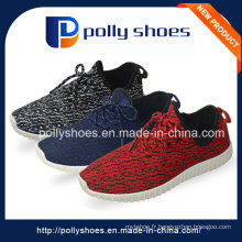 Lace-up Men in China Factory Sport Chaussures de toile