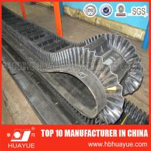 Nylon Rubber Sidewall Skirt Conveyor Belt