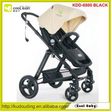 Novo en1888 luxo design viagem sistema carrinho de bebê, carrinho de bebê rocking com reboque