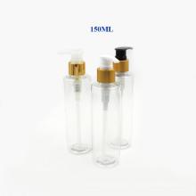 Bouteille de pompe en plastique Electroplate 150 ml pour parfum et lotion (NB20303)