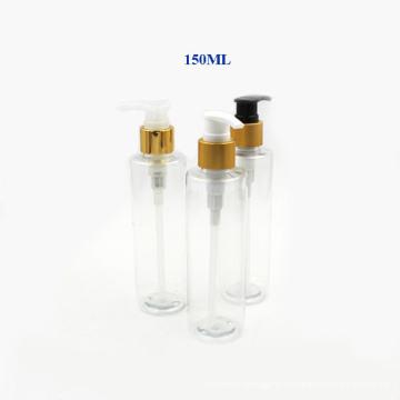 Botella plástica de la bomba del electrochapado 150ml para el perfume y la loción (NB20303)