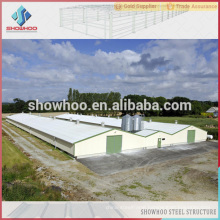 steel structure shed design chicken egg poultry farm for chicken and pig