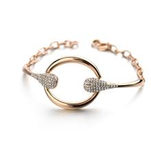Hot Item Bracelet promotionnel 2016 bijoux extraordinaire cercle cristal avenue bracelet bijoux accessoires