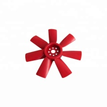 Red plastic components for Fan