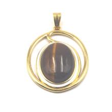 Cusotm Made Gemstone Pendant en plaqué or 18 carats