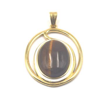 Кузотмский кулон Gemstone в золоте 18kt.