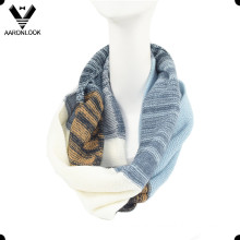 Lady′s Stylish Multicolor Knitted Neck Scarf