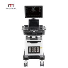 Ultrasound system 19 inch LED screen 128 elements 3d/4d color doppler china machine ultrasound