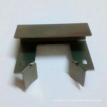 Feuille d'acier en silicone Plaque d'estampage métallique de précision pour machine