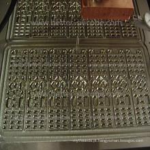 Ferramental de molde de teclado de borracha de silicone