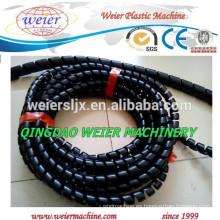 máquina de producción de tubos de espiral de PE plástico correa