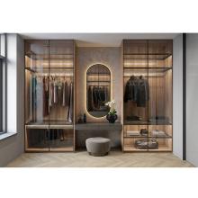 Modern Wood Bedroom Wardrobe