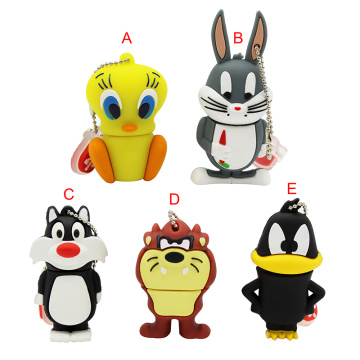 Pendrive de clé USB Cartoon Animal
