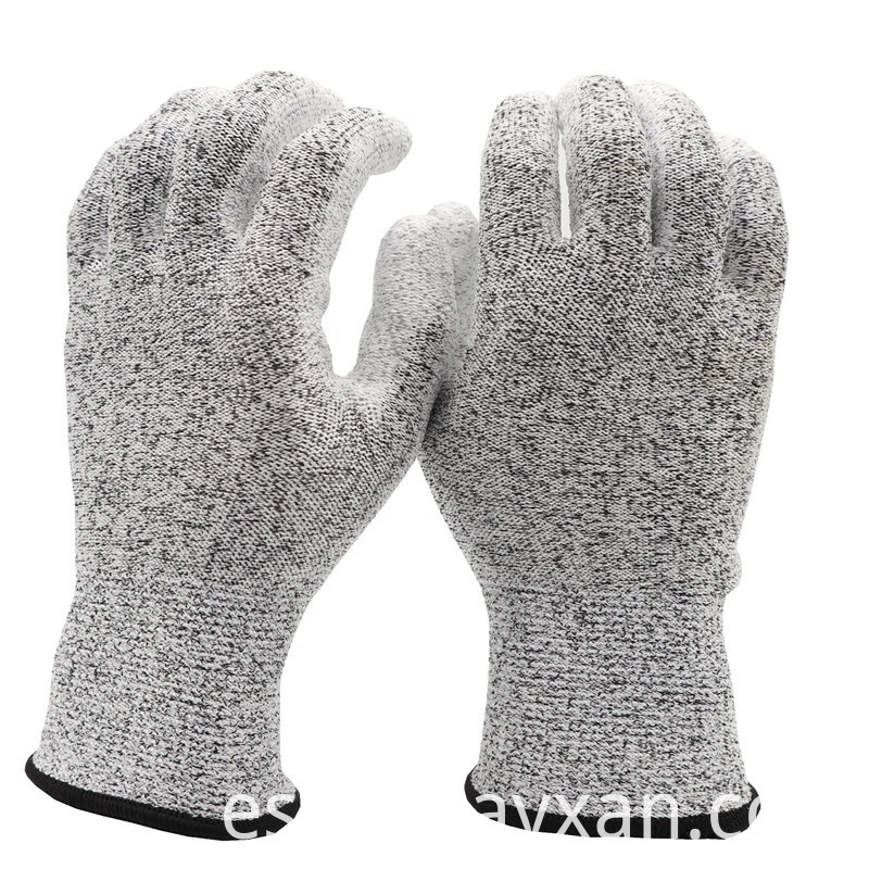 Anti vibration cut glove