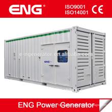 Venda gerador diesel em contêineres 800KW, Motor diesel para 4008TAG2A