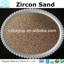 Melhor fornecedor de areia Zircon com preço competitivo