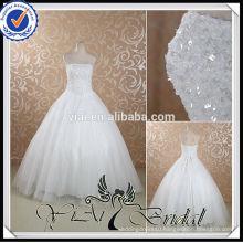 RSW445 Cheap Rhinestone Beaded Sequin Ready Made Wedding Dresses Under 100