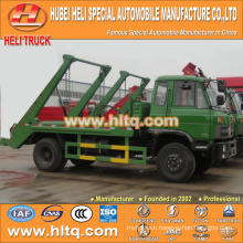 DONGFENG 4x2 8cbm hermetic garbage truck city garbage truck sanitation vehicle excellent quality and reasonable price