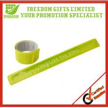 Promotion Customized Logo PVC Reflective Slap Band
