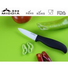 Черная ручка Керамическая Кухонные Ножи для кожура