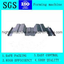Manufactory Material de Construção Galvanizado Piso ondulado Decking Folha de aço
