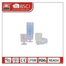 пластиковые чашки 0,24 Л 5 шт
