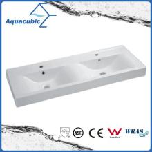 Banheiro duplo Banheiro cerâmico Banheiro lavatório lavatório lavatório de mão (ACB4612D)