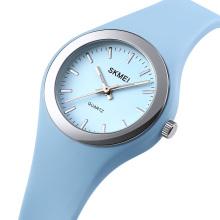 SKMEI 1722 Lady Watch Quartz Silicone Wrist Watch Latest Wrist Watches for Girls