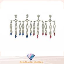 Art und Weise Heißer Verkaufs-Silber-Ohrring E6704