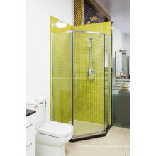 Sanitária Ware forma de diamante Clear Glass Shower Cubicle (H008B)