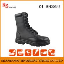 Botas militares americanas de alto brilho Snf568