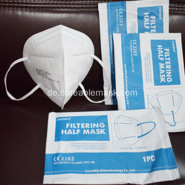 Careable FFP2 Respirator EN149 Chinesische Export-Whitelist