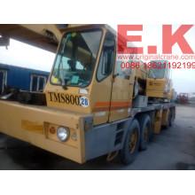 80ton Grúa móvil de camión hidráulico Grove usado (TMS800B)
