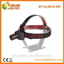 Alimentation en usine 3 modes focus réglable zoom led phares phare, cree led phare 160lm