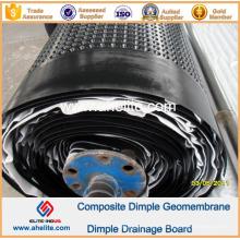 Geomembrana del hoyuelo del HDPE para la ingeniería de Landscope