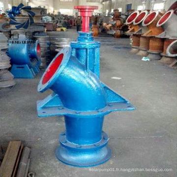 Débit variable de la pompe à eau