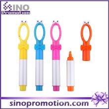 Marcador de caneta de marcador de anel chave caneta marcador bonito