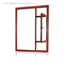 Тепловой-брейк алюминиевые окна происхождения (фут-W80)