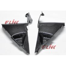 Piezas de la fibra de carbono de la motocicleta Panel lateral para Honda Cbr600rr 07-09