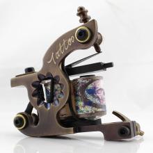 CNC à la main pure coupe technologie laiton bobine Tattoo Machine matériel