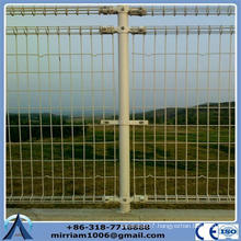 residential double loop wire mesh fence(professional factory)
