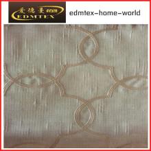 Moda Bordado Organza cortina tecido EDM2044