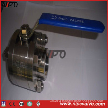 Forged Stainless Steel Fnpt Female Thread Ball Valve